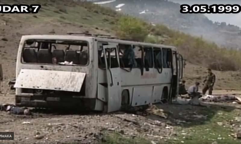 Na današnji dan 1999. godine NATO je gađao autobus pun civila kod Peći  (UZNEMIRIJUĆI VIDEO) - | Radio Bravo Osojane